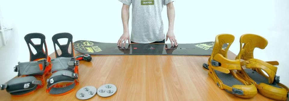 как правильно установить крепления на сноуборд